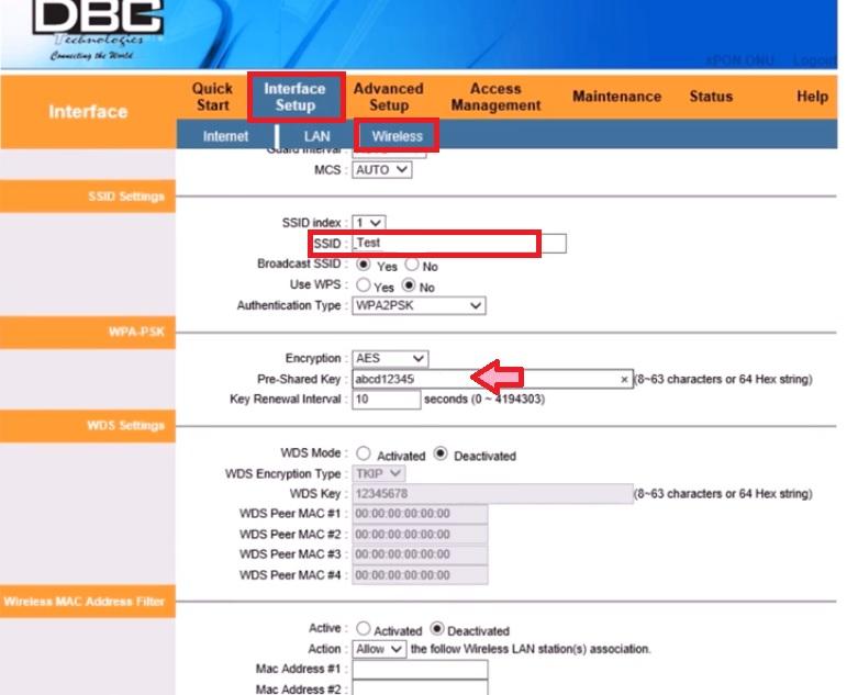 DBC 4 port onu price